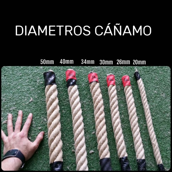 Diámetros Cáñamo